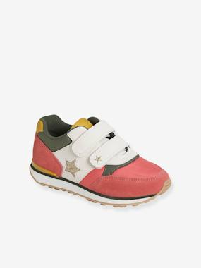 Running-Type Trainers with Touch Fasteners, for Girls blue