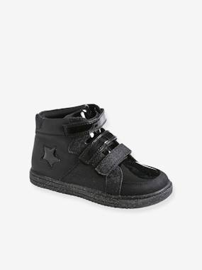 High-Top Trainers with Touch Fasteners, for Girls pink